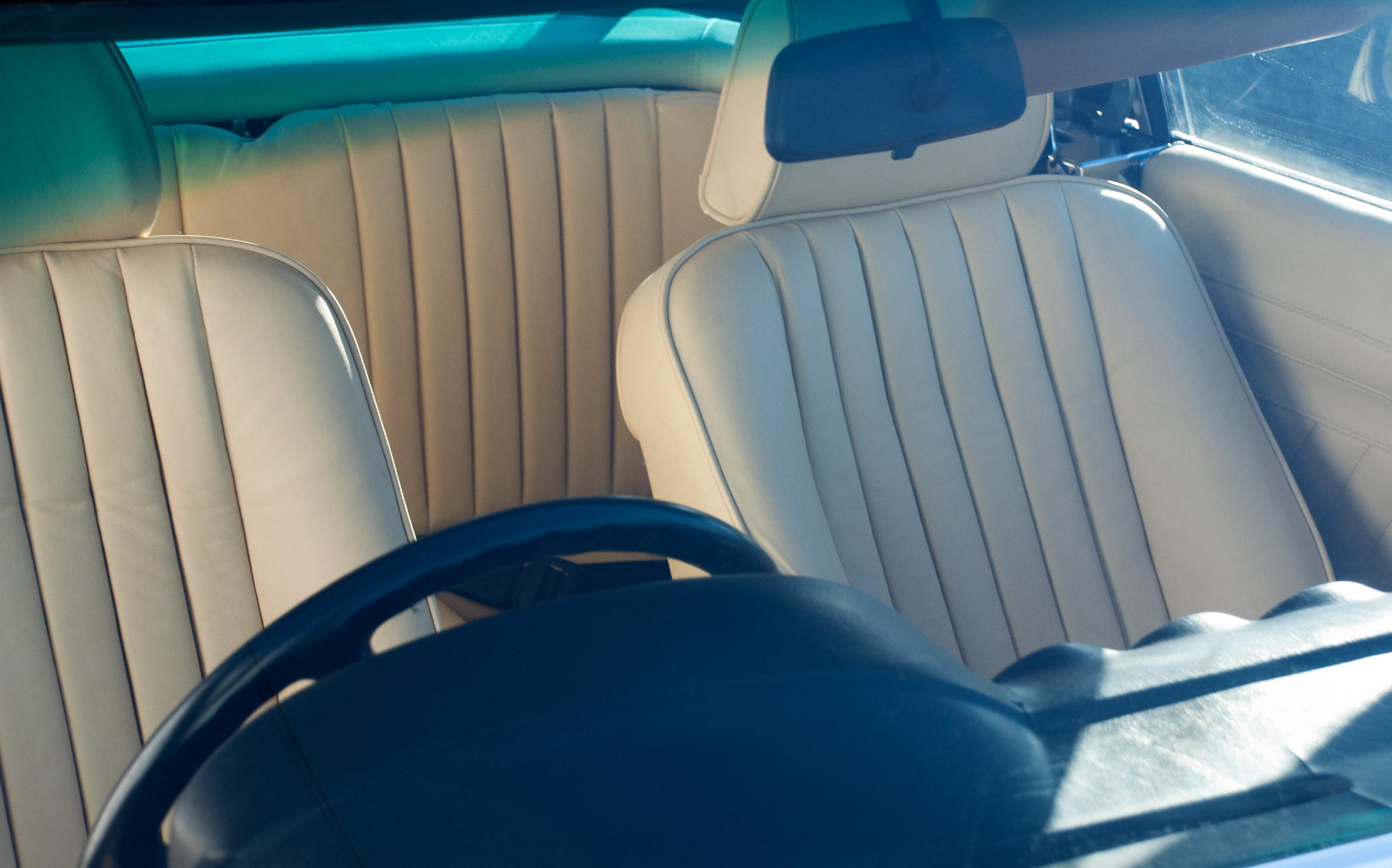 Mercades+Leather+Interior