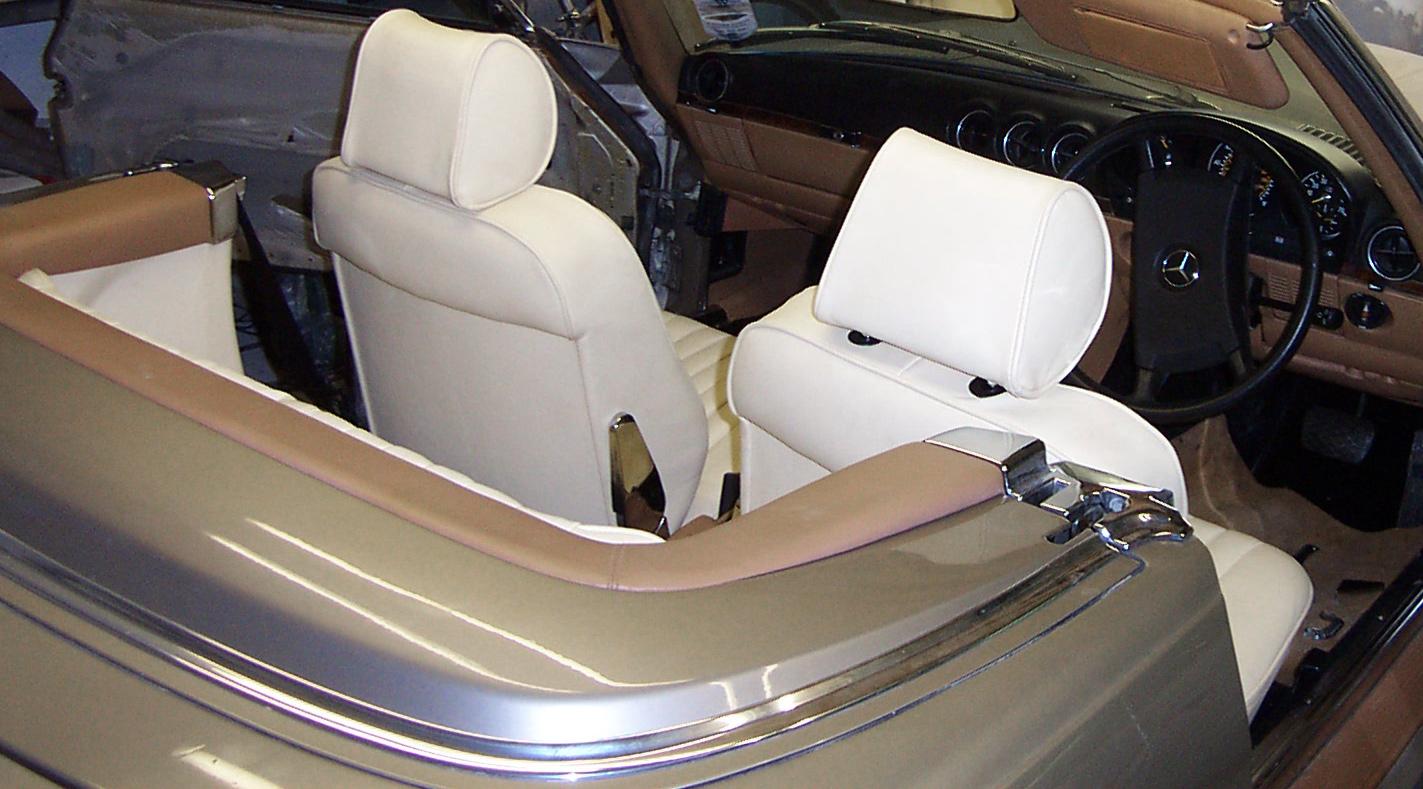 Mercades+Re-upholstering