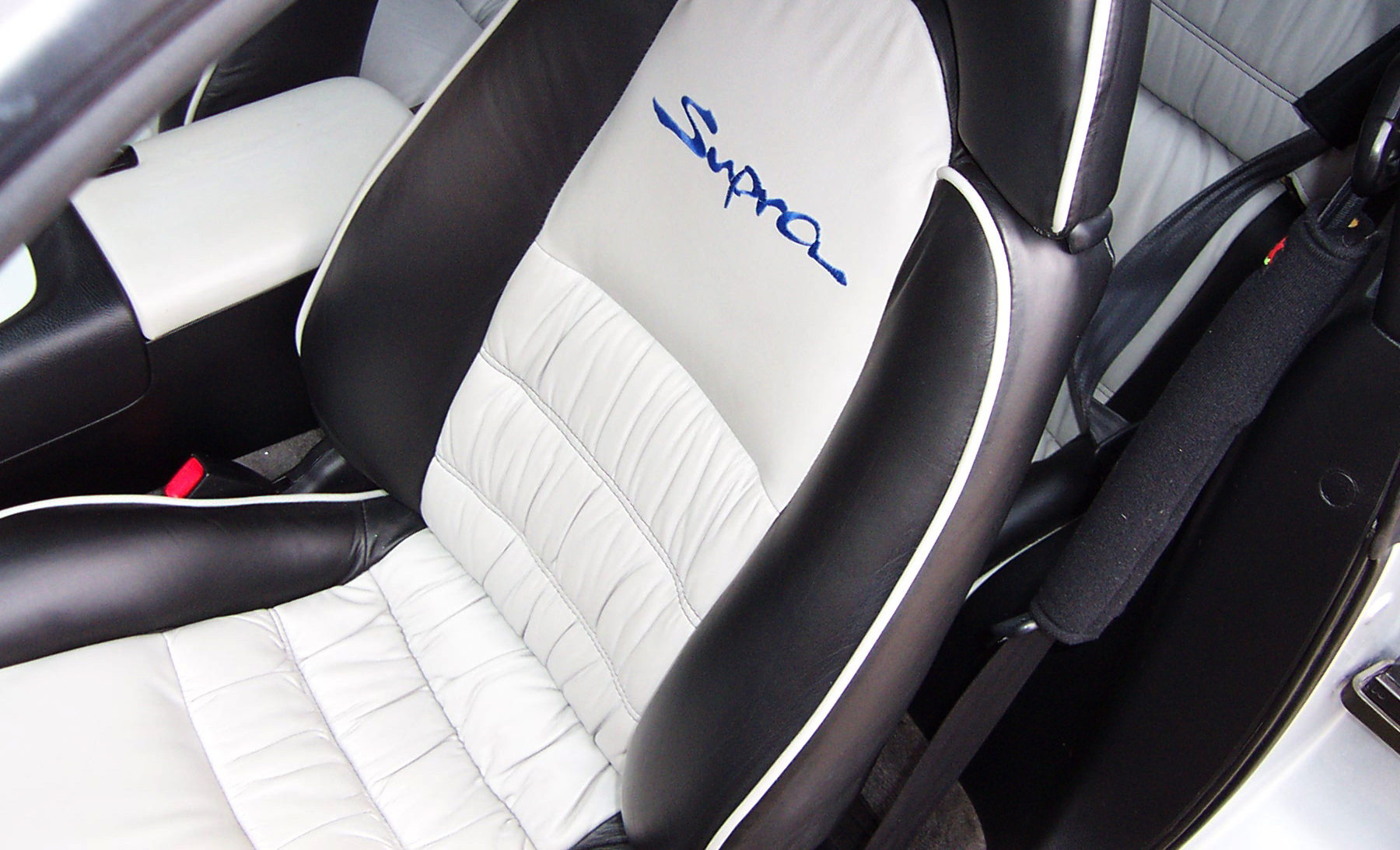 Black+and+white+interior%2C+including+piping%2C+with+custom+embroidery