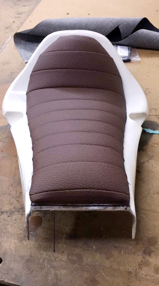 Padded+motorcycle+seat
