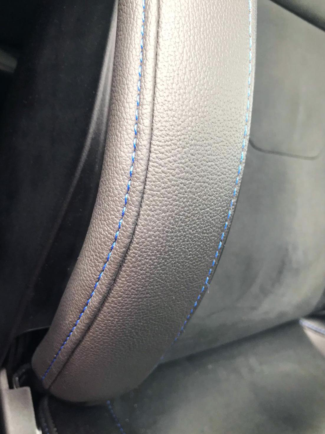Car+seat+repair+stitching+detail+after+cigarette+burn