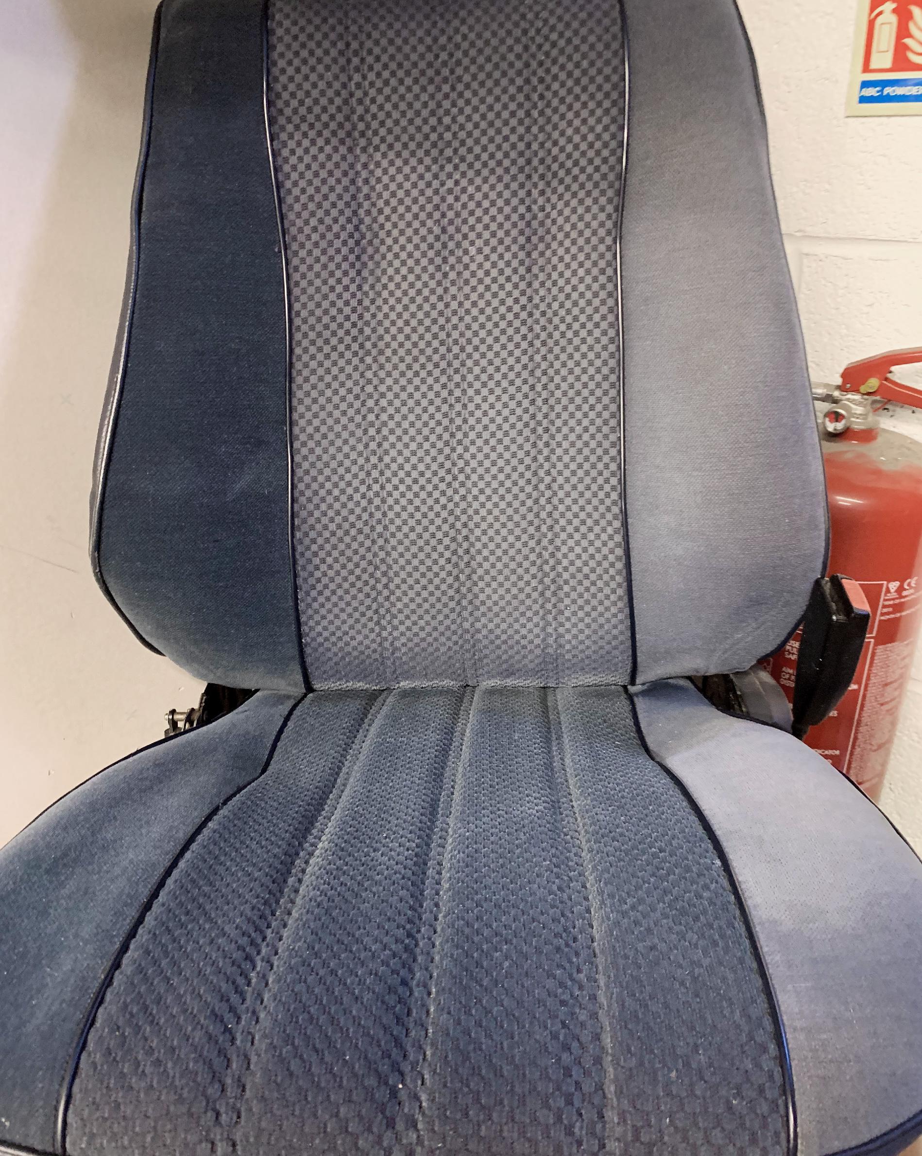 Vehicle+seat+repair+in+progress