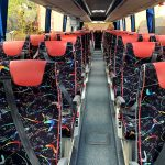 Coach seat refurbishment